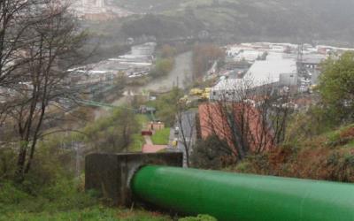 Proyecto conjunto de rehabilitación del bombeo de agua del río Nervión en Bolueta