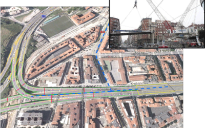 Proyecto: Desmantelamiento de los viaductos del enlace de Sabino Arana