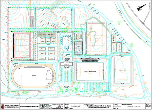 Proyecto: Urbanización de la Ciudad deportiva del Valle de las Cañas