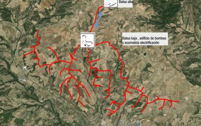 Proyecto de modernización de la red de riego de la comunidad de regantes canal del Cinca nº 1, zona 2- Barbastro (Huesca)