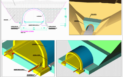 Proyecto: Túneles del proyecto de construcción: variante de población. n-420 de córdoba a tarragona. p.k. 150,000 al 164,000. tramo: variante de puertollano