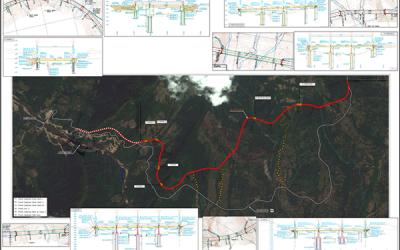 Proyecto: Vía sustitutiva Bucaramanga a Barrancabermeja y tramo de la vía Bucaramanga a Barrancabermeja y restitución del puente Gómez Ortiz en la vía Bucaramanga Zapatoca