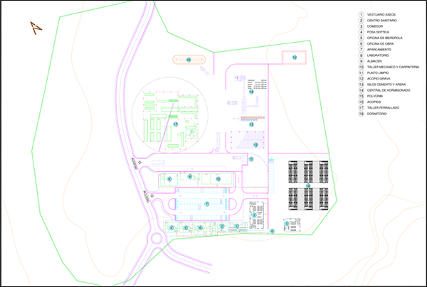 Proyecto: Contrato cv04. Central, aspiración y forzada bajo cota 800m de Gouvães