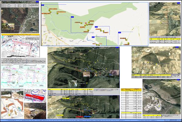 Proyecto ejecutivo y construcción de presa derivadora (sistema de bombeo purgatorio arcediano) con compuertas