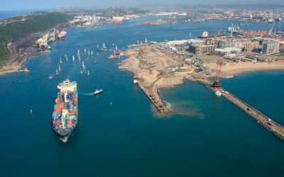 Durban Container Terminal Berths 203 to 205 Reconstruction, Deepening and Lengthening (Sudáfrica)